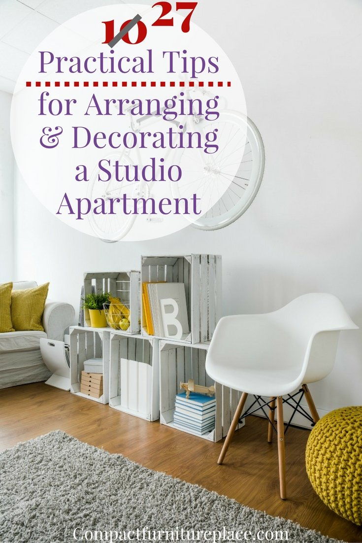 Studio Apartment Tips 27 practical tips for studio apartment furniture and decor