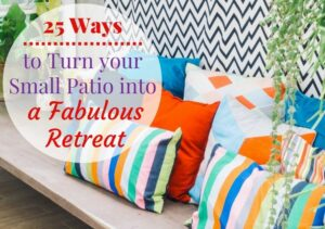 25 Small Patio Ideas to Turn your Tiny Space into a Fabulous Retreat