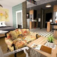 How to furnish and decorate a studio apartment