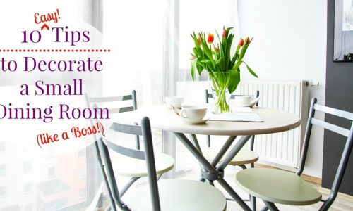 10 Small Dining Room Ideas for a Beautiful and Usable Space
