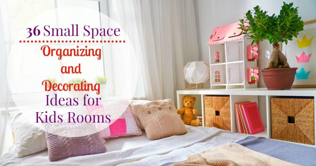 Small kids bedroom ideas to help organize and decorate a small kids room