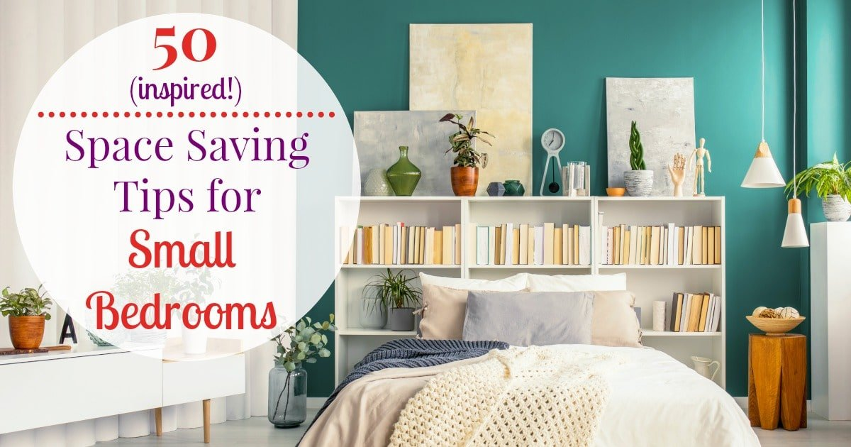 50 small bedroom ideas and incredibly useful space saving tips - Small space room ideas ...