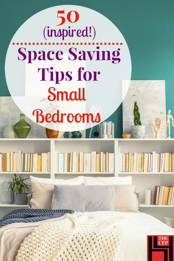 50 small bedroom ideas and incredibly useful space saving tips - How to furnish a small bedroom ...