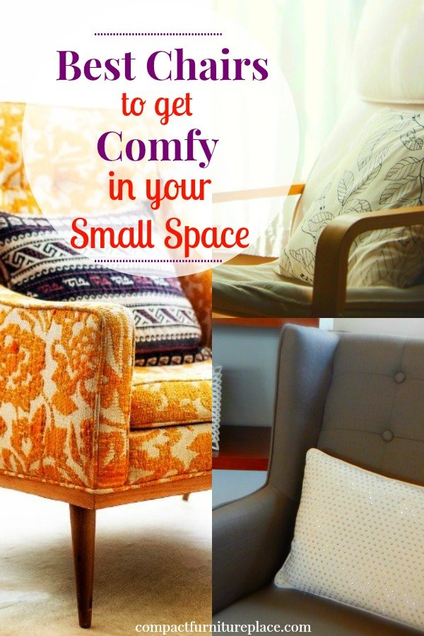 These Comfortable Chairs Are Especially Great For Small Living Rooms. They  Have A Small Footprint