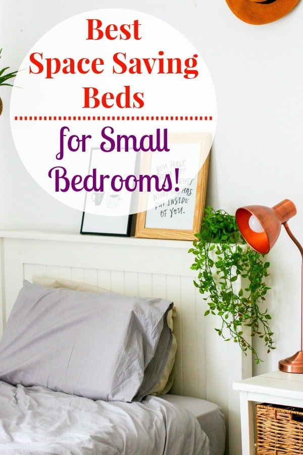 The best beds for small bedrooms have a low profile or include storage to help you save space and make the room look larger.