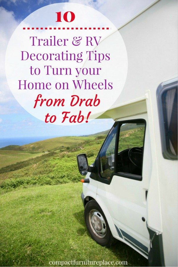 These trailer and RV decorating tips will help you out when you're ready to give your rig a makeover!