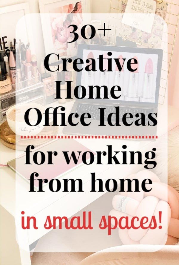 Work from home in small space